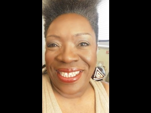 Makeup for Mature women of color: MY Mom