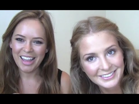 Sunkissed Natural Glowing Everyday Makeup Tutorial feat. Made In Chelsea's Millie Mackintosh