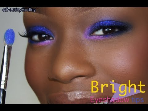 BRIGHT Eyeshadow TIPS |  Primer for BRIGHT Eye makeup