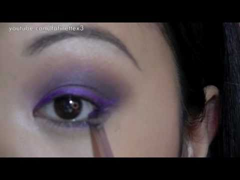 Prom Makeup: Sultry Purple