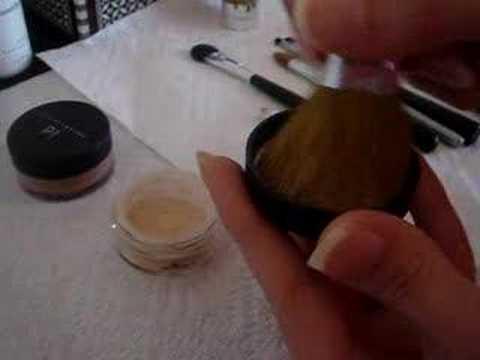 Mineral Makeup – part 1