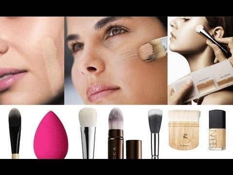 10 DIFFERENT WAYS TO APPLY FOUNDATION!!!!