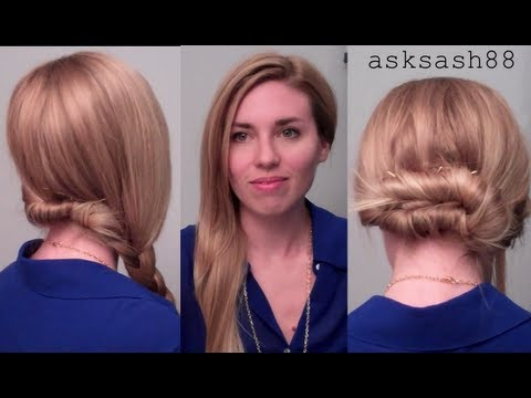 3 Easy, Quick Everyday Hairstyles for long hair & hairstyles for medium hair