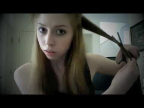 How To Cut Hair (Layers) & How To Thin Out Hair!