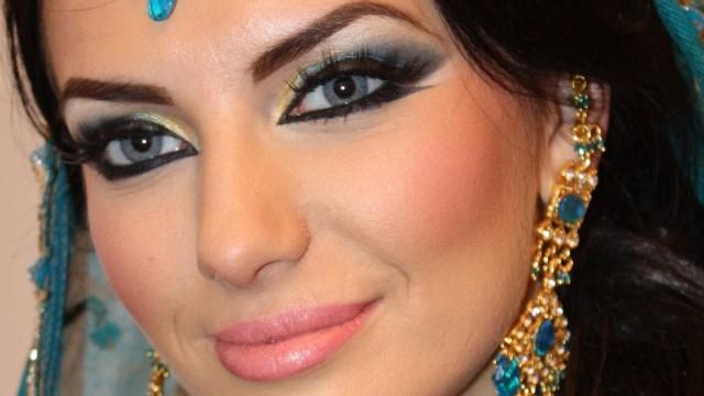Makeup Tutorial Exotic Arabic Makeup Tutorial Princess Jasmine Makeup  ماكياج العربي