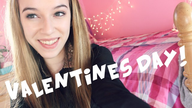 Valentines Day Hair, Makeup and Outfit