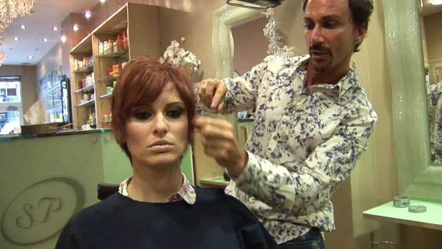 Long To Short Haircut Makeovers:Short Hairstyles For Women, Drastic Haircut Tutorial:Stuart Phillips