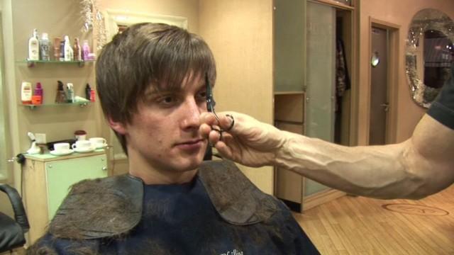 Men's Hairstyle For Medium Hair, How To Cut Hair In Layers ✂ Short Choppy Haircut Tutorial