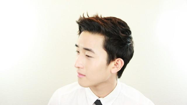 THEHAIR : Korean Men's Wavy Hairstyle Tutorial