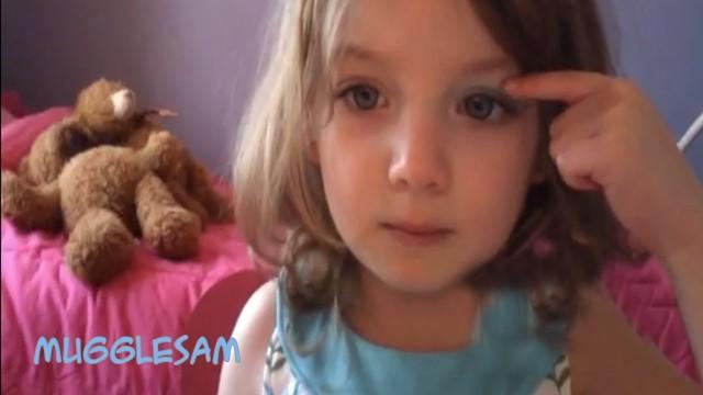 3 Year Old Bella's Hilarious Baby Makeup Tutorial