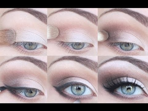 STEP BY STEP EYESHADOW TUTORIAL – FOR ALL EYE SHAPES!