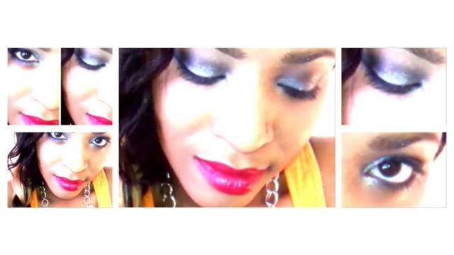 ★PURPLE EYE SHADOW TUTORIAL[FROM DAY TO NIGHT]SPARKLY LIGHT/DARK PURPLE! HOW TO CREATE SMOKEY EYE
