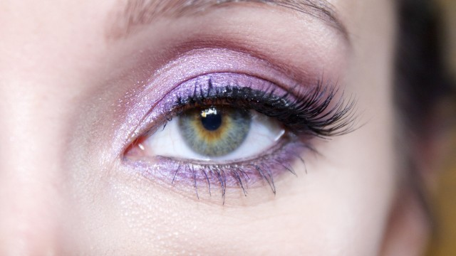 Purple Eyeshadow Makeup Tutorial – Day to Night