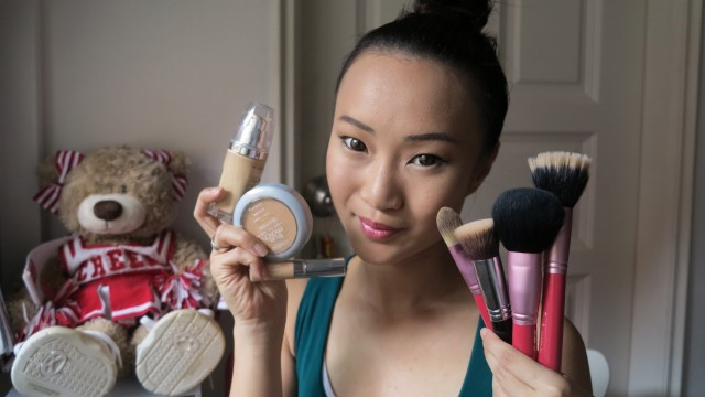 Step-by-Step Basics ♥ How To Apply Foundation, Concealer, Powder ♥ L'Oreal True Match Series