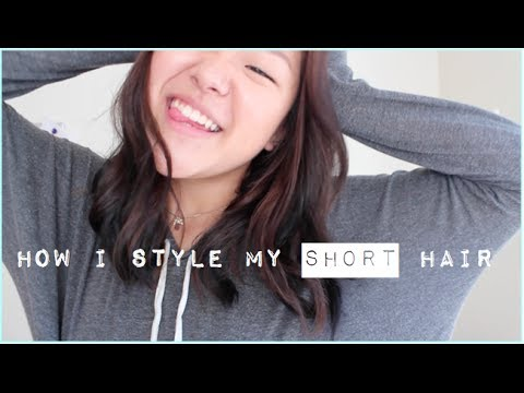 How I Style My Short Hair (5 Easy Hairstyles)