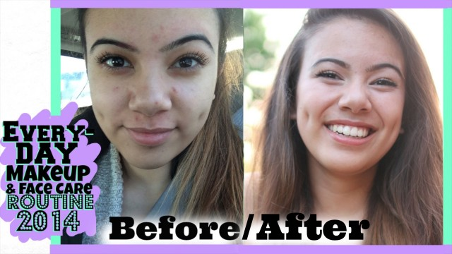 Everyday Makeup Tutorial & Face Care Routine For Summer 2014!!