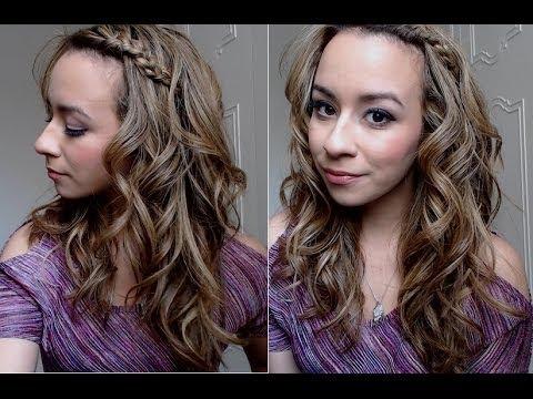 Valentine's Day Hair Tutorial! : Soft, Romantic Curls