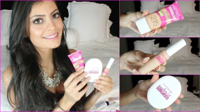 NEW CoverGirl Ready Set Gorgeous Liquid Foundation, Powder Foundation, & Concealer Review+Demo!