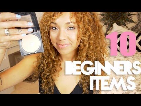 Top 10 Beginners Drugstore Makeup Items ♡