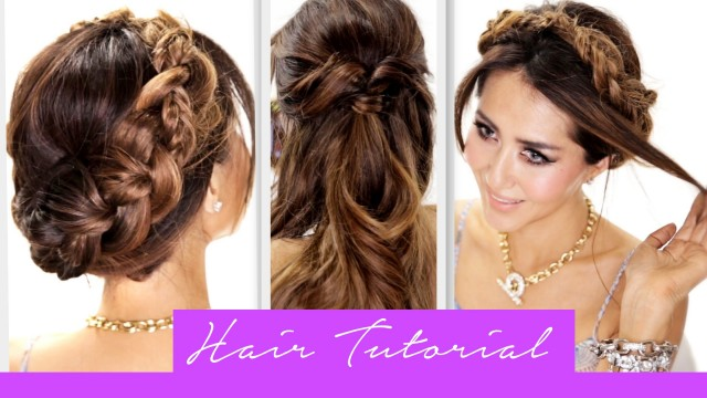 3 Amazingly EASY BACK-TO-SCHOOL HAIRSTYLES | How to Cute Braids Hairstyle | HAIR