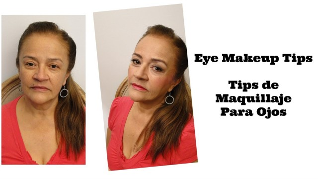 Tips de maquillaje para ojos (Piel Madura) / Eye Makeup Tips (Mature Skin) Video