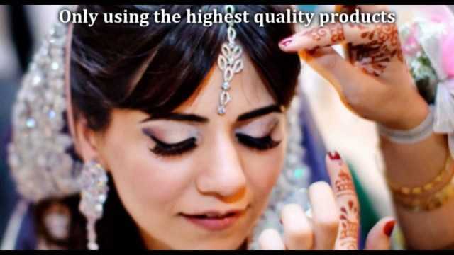 Pakistani Indian Arabic Bridal Airbrush Makeup 2