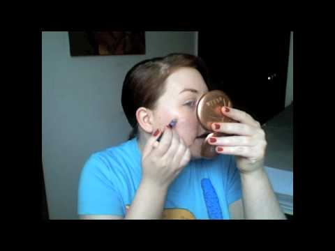 Mineral Foundation Routine: Mature, Dry Skin