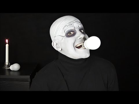 Fester Addams Makeup Tutorial