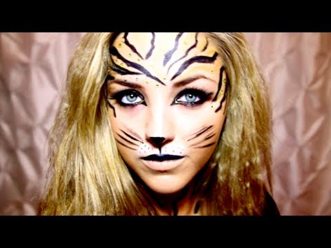 Tiger Halloween Makeup