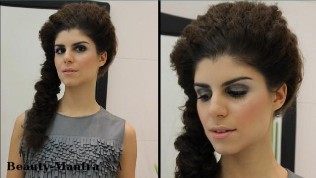 Makeup Ideas – Evening Makeup for Grey Dress