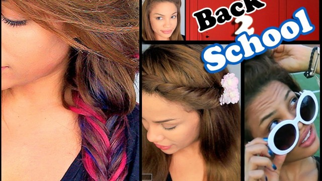6 Easy Back to School Hairstyles!  | AndreasChoice