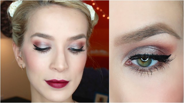 Makeup Tutorial: Fall Party (Eyes + Lips)