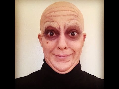 ADDAMS FAMILY UNCLE FESTER – special fx makeup tutorial engl