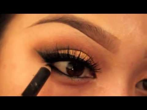 Warm Smokey EYE Make up Tutorial // Fall eyes// Palafoxxia