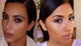 Kim Kardashian Natural/ Everyday Dewy Makeup Tutorial| Neutral Eyes + Nude Lips