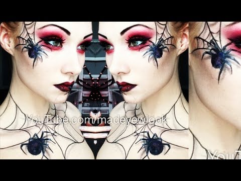 The Spider Queen Makeup Tutorial (Madeyewlook Original)