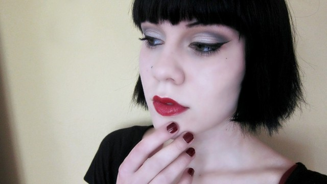 Morticia Addams Makeup Collab!