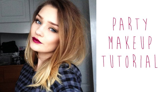 FESTIVE PARTY MAKEUP TUTORIAL | tinytwisst