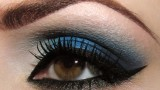 Makeup Tutorial: Navy Blue Drama