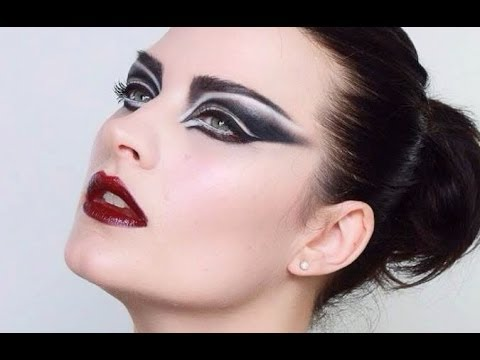 Punk / Goth inspired Siouxsie Sioux Makeup tutorial