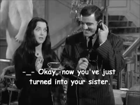 Morticia Addams… -_- Really???