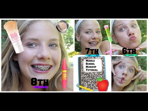 ✎BACK TO SCHOOL: Middle School Makeup Tutorial