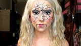 """Shattered Ventriloquist Doll"" Halloween Tutorial ♡"