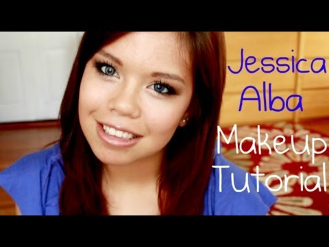 Everyday SUMMER Makeup Tutorial (Jessica Alba Inspired)