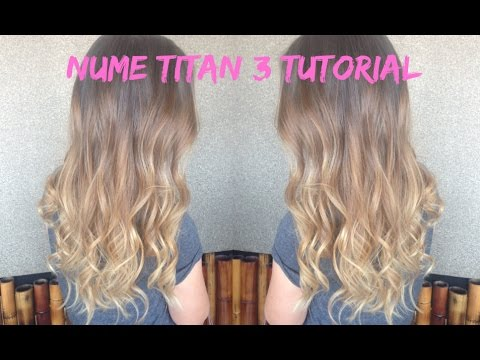 NuMe Titan 3 Tutorial ♡ Romantic Curls