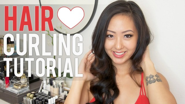 HAIR: Easy, Retro Romantic Curls Tutorial
