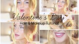 Valentine's Day Hair and Makeup Tutorial