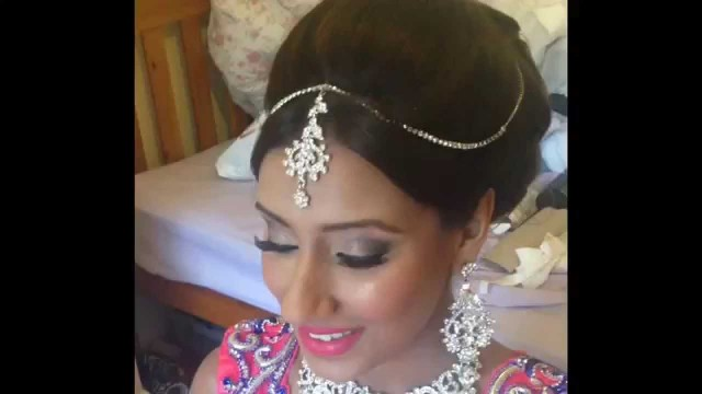 Real Bride by Ganga Make-up, Airbrush Make-up, Bridal Hair and Bride Dressing