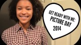 Get Ready with Me: Picture Day Perfect Hair, Makeup, and Outfit 2014