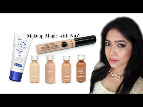 Makeup Basics: How to apply Foundation, Concealer and Powder